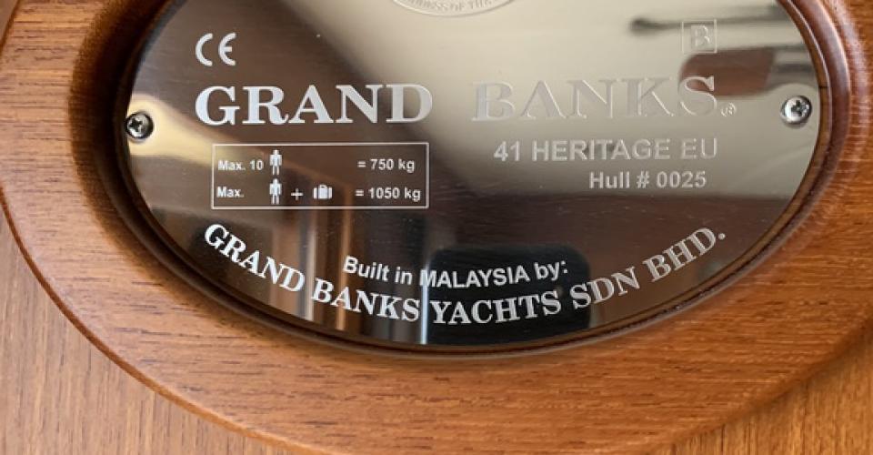Grand Banks 41 Heritage